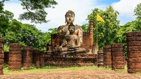 Statua di Buddha al tempio Fotografia Stock Libera da Diritti