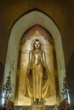 Statua di Buddha a Bagan Fotografia Stock Libera da Diritti
