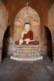 Statua di Buddha a Bagan Fotografia Stock