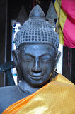 Statua di Buddha in Banteay Kdei, in Cambogia Fotografia Stock Libera da Diritti