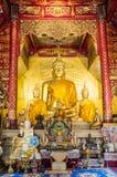 Statua di Buddha, Chiangmai, Tailandia Fotografie Stock