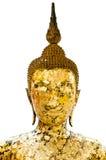 Statua di Buddha con fondo isolato Fotografie Stock