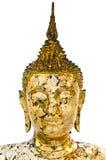 Statua di Buddha con isolato Immagine Stock Libera da Diritti