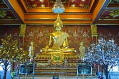 statua di Buddha del ฺGold Fotografia Stock Libera da Diritti