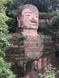 Statua di Buddha del gigante di Leshan immagine stock libera da diritti