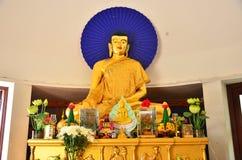 Statua di Buddha dell'oro Fotografie Stock