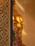 Statua di Buddha dell'oro, tempio di Wat Traimit, Bangkok, Tailandia Fotografie Stock