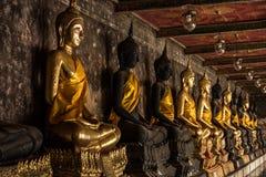 Statua di Buddha della Tailandia e dell'Asia Fotografia Stock Libera da Diritti