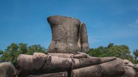 Statua di Buddha di rovina Immagine Stock Libera da Diritti
