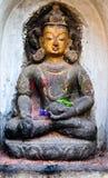 Statua di buddha nel Nepal Immagini Stock