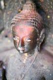 Statua di Buddha nel Nepal Fotografie Stock Libere da Diritti