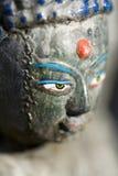 Statua di Buddha nel Nepal Immagine Stock