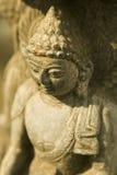 Statua di Buddha nel Nepal Fotografia Stock Libera da Diritti