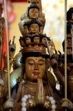 Statua di Buddha nel wat Fotografia Stock