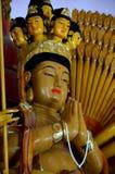 Statua di Buddha nel wat Immagine Stock Libera da Diritti