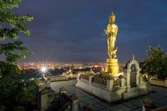 Statua di Buddha nella provincia di Nan, Tailandia Fotografia Stock