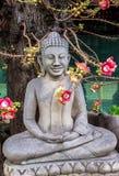 Statua di Buddha in Royal Palace a Phnom Penh Fotografia Stock