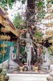 Statua di Buddha in Royal Palace a Phnom Penh Immagine Stock