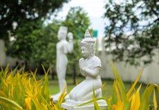 Statua di Buddha in Royal Palace a Phnom Penh Fotografie Stock