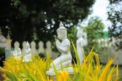 Statua di Buddha in Royal Palace a Phnom Penh Fotografia Stock Libera da Diritti