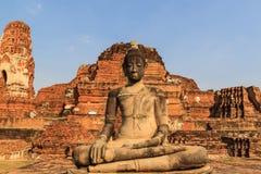 Statua di Buddha in tempio di Wat Mahathat, Tailandia Immagini Stock