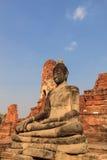 Statua di Buddha in tempio di Wat Mahathat, Tailandia Immagine Stock Libera da Diritti
