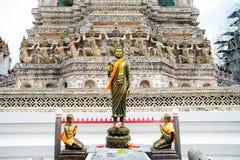 Statua di Buddha in Wat Arun Thailand immagine stock libera da diritti