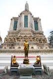 Statua di Buddha in Wat Arun Thailand fotografie stock libere da diritti