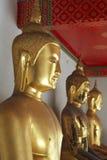 Statua di Buddha a Wat Phra Chetuphon Fotografia Stock Libera da Diritti