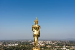 Statua di Buddha a Wat Phra That Khao Noi Fotografia Stock Libera da Diritti