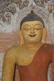 Statua di Buddha in Ywa Haung Gyi Fotografia Stock Libera da Diritti