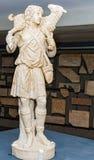 Statua di buon pastore Immagini Stock