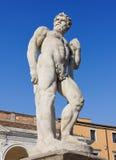 Statua di Caco a Udine Immagine Stock Libera da Diritti