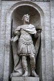Statua Di Carlo Magno w Rzym, Włochy Zdjęcia Stock