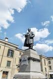 Statua di Cavour a Verona, Italia Immagini Stock Libere da Diritti
