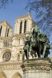 Statua di Charlemagne immagini stock libere da diritti