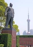 Statua di Chen Yi fotografie stock