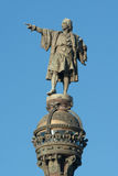 Statua di Christopher Columbus Fotografia Stock