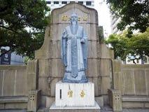 Statua di Confucio Fotografia Stock Libera da Diritti