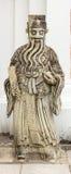Statua di Confucio in tempio Fotografia Stock