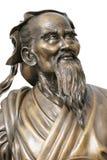 Statua di Confucius Fotografia Stock