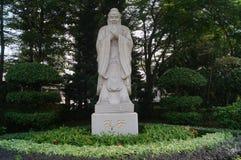 Statua di Confucius Immagine Stock