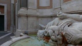 Statua di conversazione a Roma archivi video