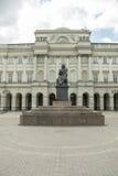 Statua di Copernicus, Varsavia Fotografie Stock Libere da Diritti