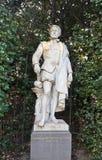 Statua di Cornelis de Vriendt (circa XIX il C.), Bruxelles, Belgio Fotografia Stock Libera da Diritti