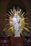Statua di Cristo del san Joseph Oratory della cripta reale del supporto Immagini Stock