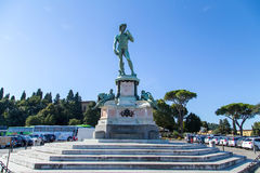 Statua di David Immagini Stock Libere da Diritti