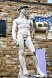 Statua di David a Firenze Fotografie Stock