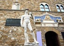 Statua di David a Firenze Fotografia Stock