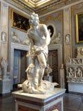 Statua di David Villa Borghese roma fotografia stock
